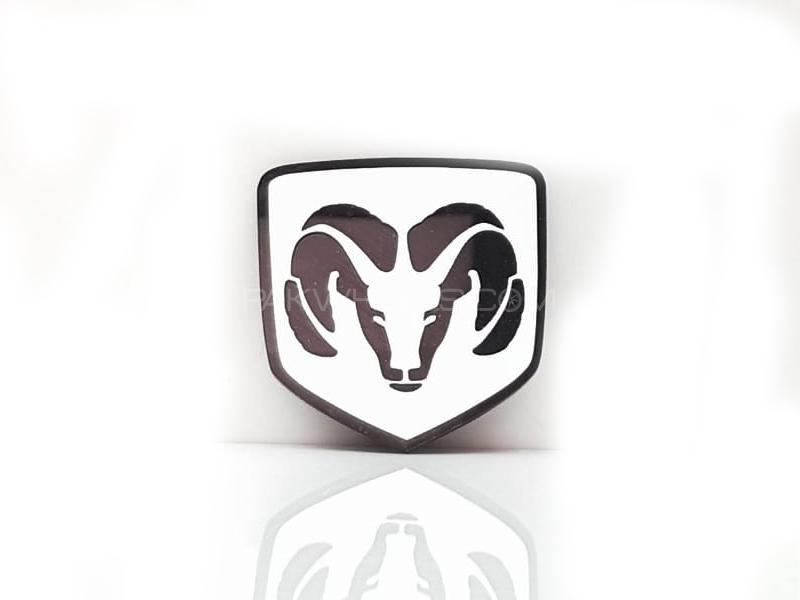 Dodge Plastic Pvc Emblem Image-1
