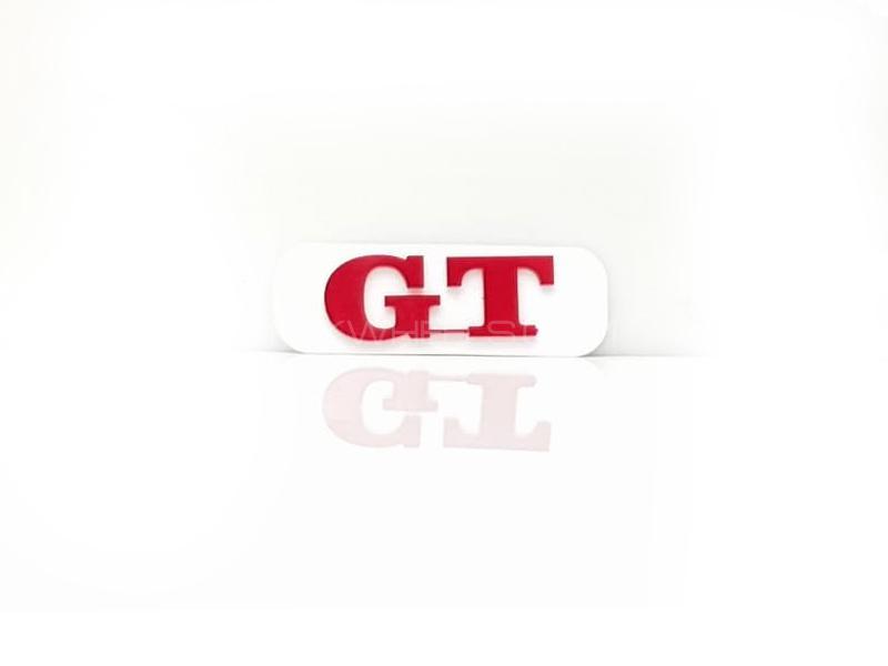 Gt 2 Plastic Pvc Emblem Image-1