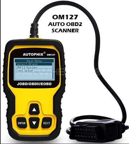 OM127 Auto Car Scanner Engine Codes Read Clear OBD2 Tool OBD JOBD