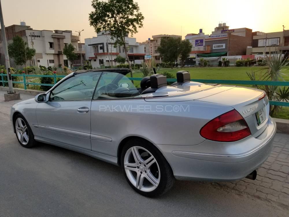 Mercedes Benz Clk Cl Clk200 Kompressor Cabriolet 2007 For In Faisalabad Pakwheels