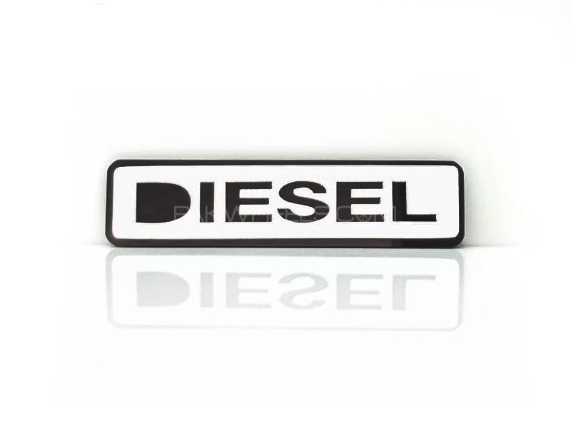 Diesel 2 Plastic Pvc Emblem Image-1