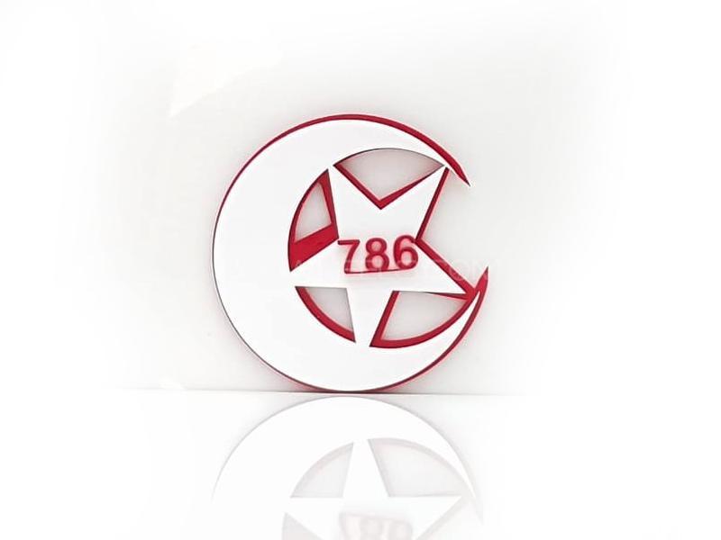Star Plastic Pvc Emblem Image-1