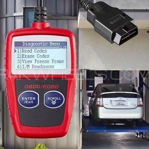 MS309 DIAGNOSTIC TOOL CAN BUS OBD2 CODE READER EOBD OBD II DIAGNOSTIC TOOLS  SCANNER