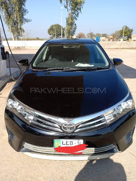 Toyota Corolla XLi Automatic 2014 Image-1