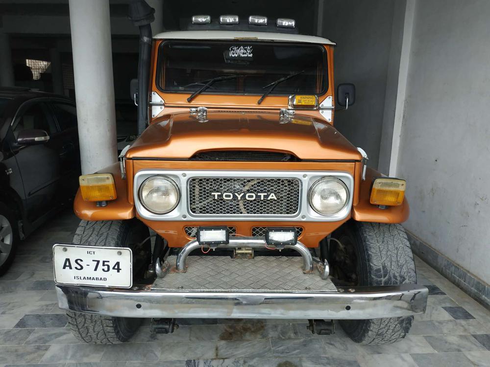 Toyota Land Cruiser J40  1984 Image-1
