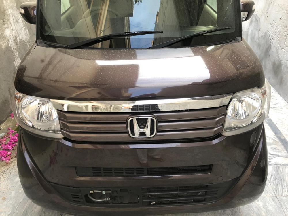 Honda N Box Custom G-L PACKAGE 2015 Image-1