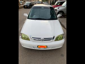 Suzuki Cultus, Limited Exition, 1000C.c, Petrol driven through out, Single Owner Through Out ( company mantained), White, 5-Seater, Model 2016, Registered KARACHI 2017, Original 65,000 K.M, ( single handed driven), Original Alloy Wheels (Company fitted), Original CD/Aux/Bluetooth Player, (Company fitted), Original & Sealed Engine, Brand New tyres fitted, No touch up, 100 percent Genuine/ Guarantee.