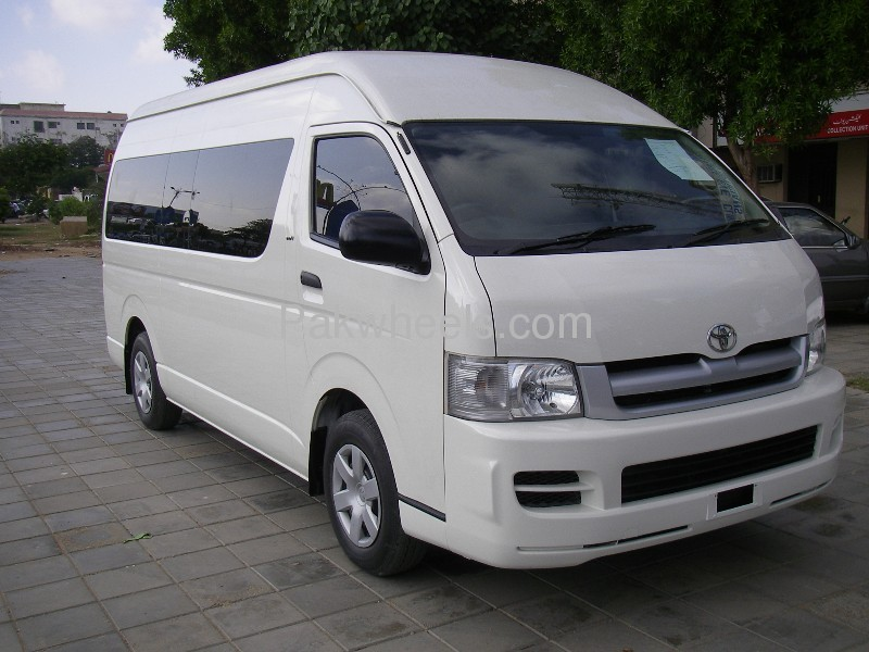toyota hiace grand cabin 2008 for sale in karachi pakwheels