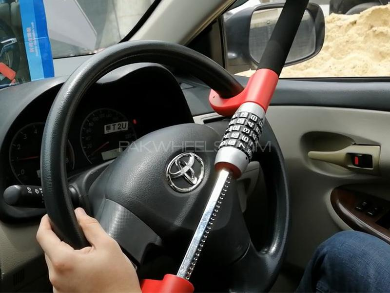 Car Anti Theft >> Universal Keyless Anti Theft Car Steering Lock