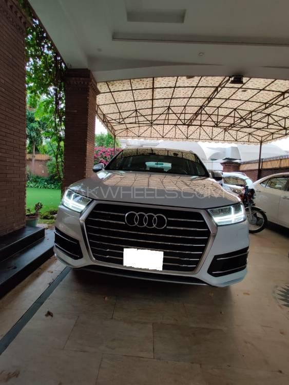 Audi Q7 3 0 TFSI 2016 for sale in Lahore   PakWheels