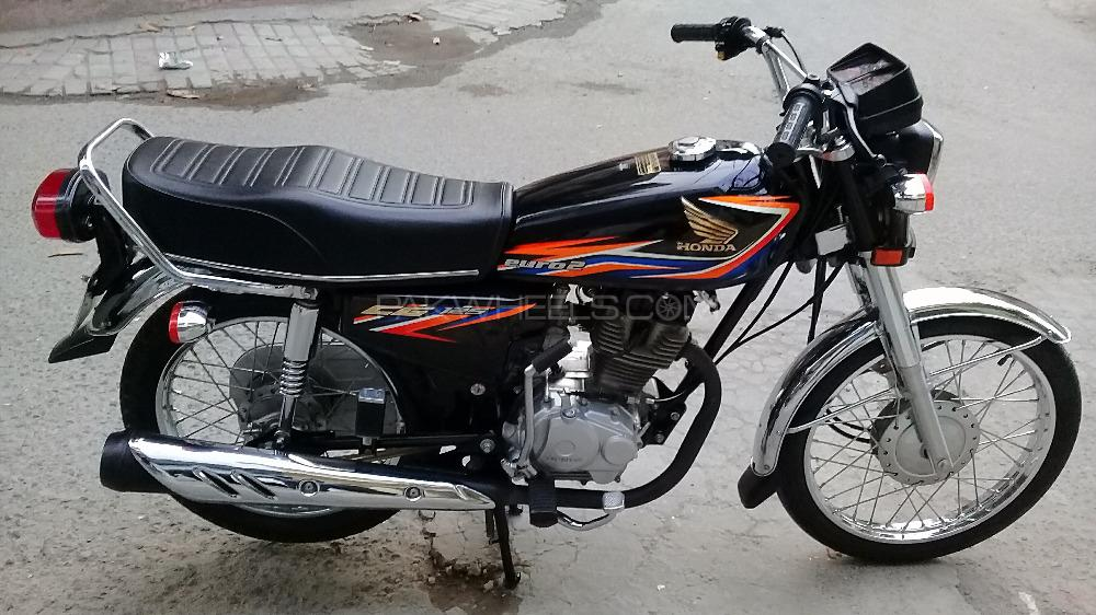 Honda CG 125 2018 Image-1