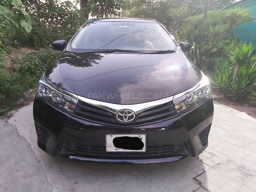 Toyota Corolla GLi 1.3 VVTi 2017 Image-1