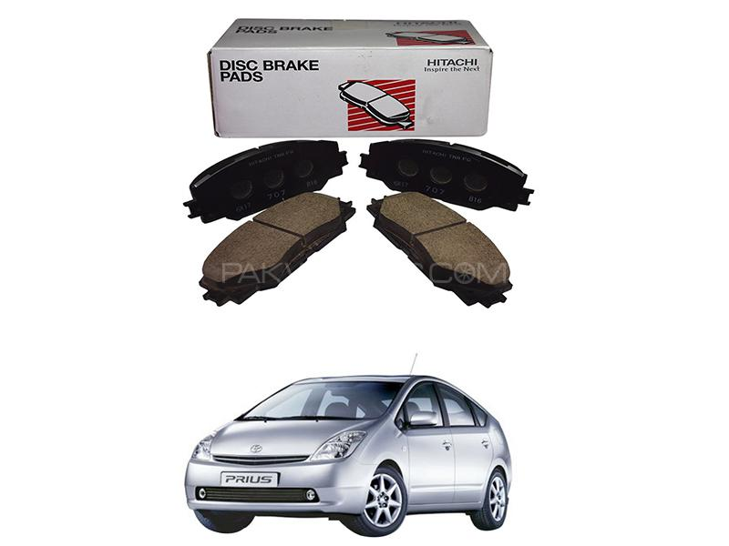 Hitachi Front Brake Pad For Toyota Prius 1.5 2003-2009 - HF600M Image-1