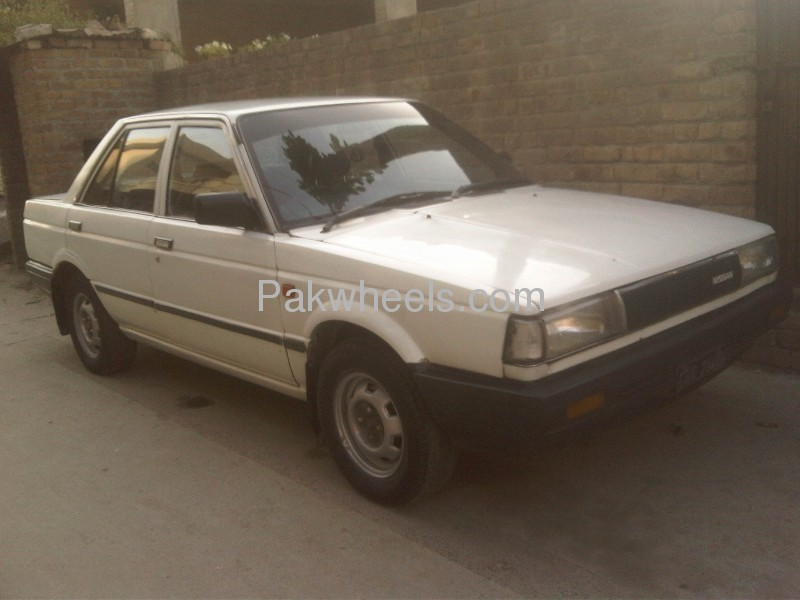 Nissan Sunny EX Saloon 1.3 (CNG) 1986 Image-4