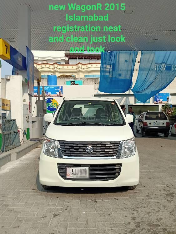 Suzuki Wagon R FA 2015 Image-1