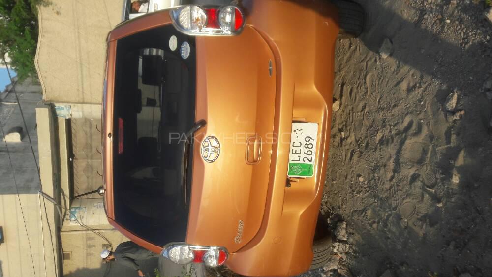 Toyota Passo + Hana Apricot Collection 1.0 2010 Image-1