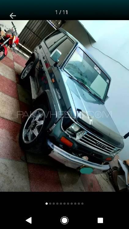 Toyota Prado RZ 3.0D (3-Door) 1988 Image-1