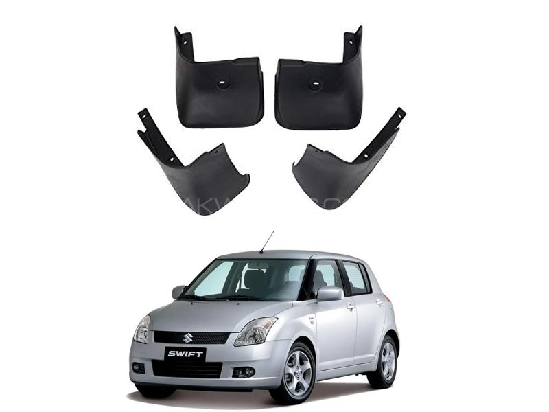 Suzuki Swift Mud Flap Set 4pcs 2010-2019 in Lahore