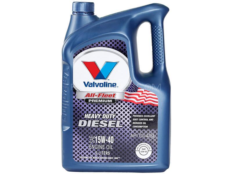 Valvoline Diesel Oil All Fleet Premium 15w-40 - 5 Litre Image-1