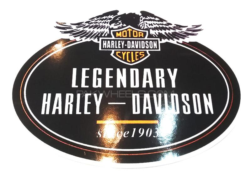 Legendary Harley Davidson Sticker Image-1