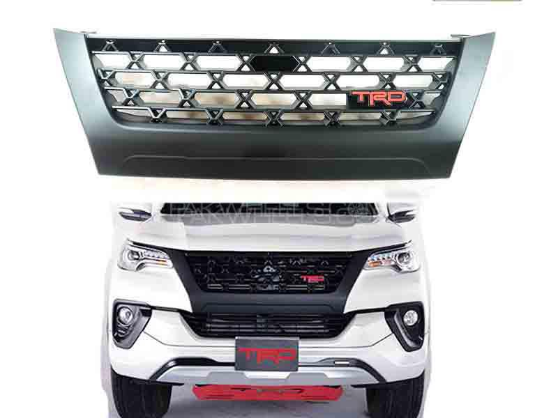 TRD Front Grill For Toyota Fortuner 2017-2019 - FA7 in Karachi