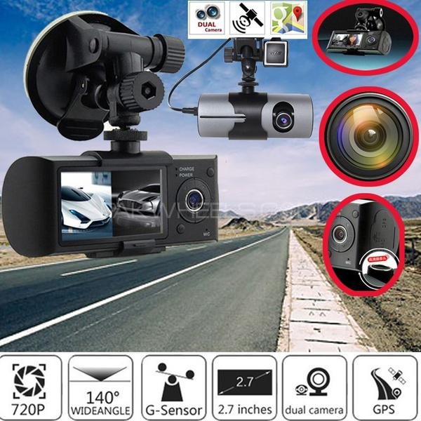 DVR CAMERA R-300 ALL CAR CAM Front Inside GPS Audio Video NEW Image-1