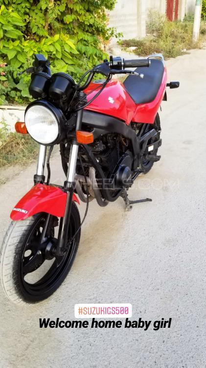 Suzuki GS500F 2003 Image-1
