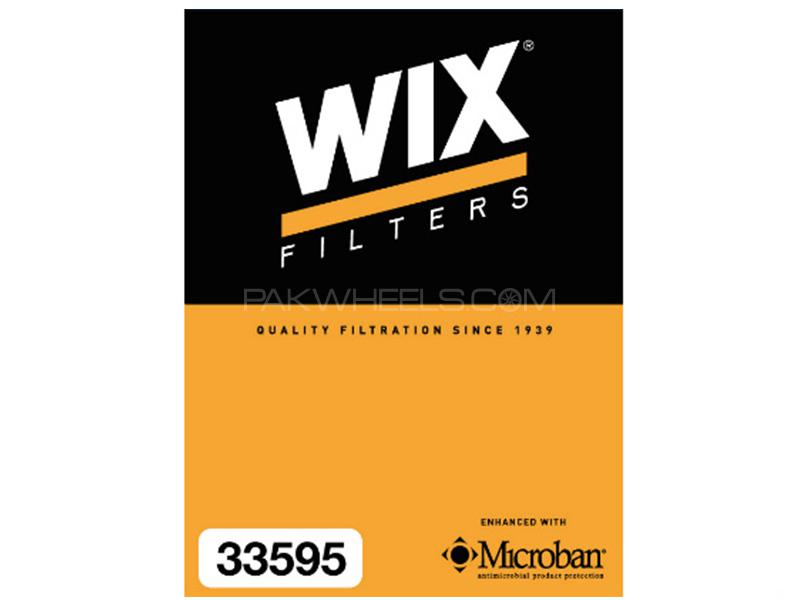 Wix Air Filter For Toyota Corolla 2002-2008 Image-1