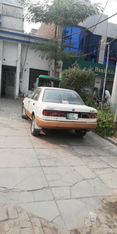 Nissan Sunny EX Saloon 1.3 1990 Image-1