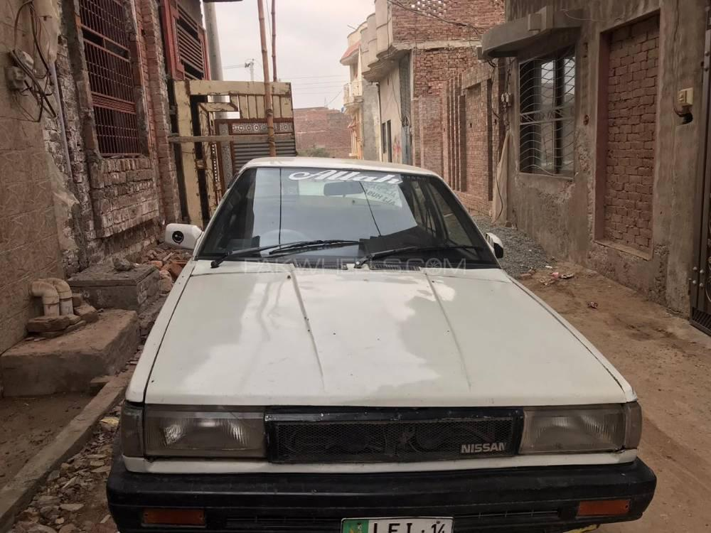 Nissan Sunny Super Saloon 1.6 (CNG) 1987 Image-1