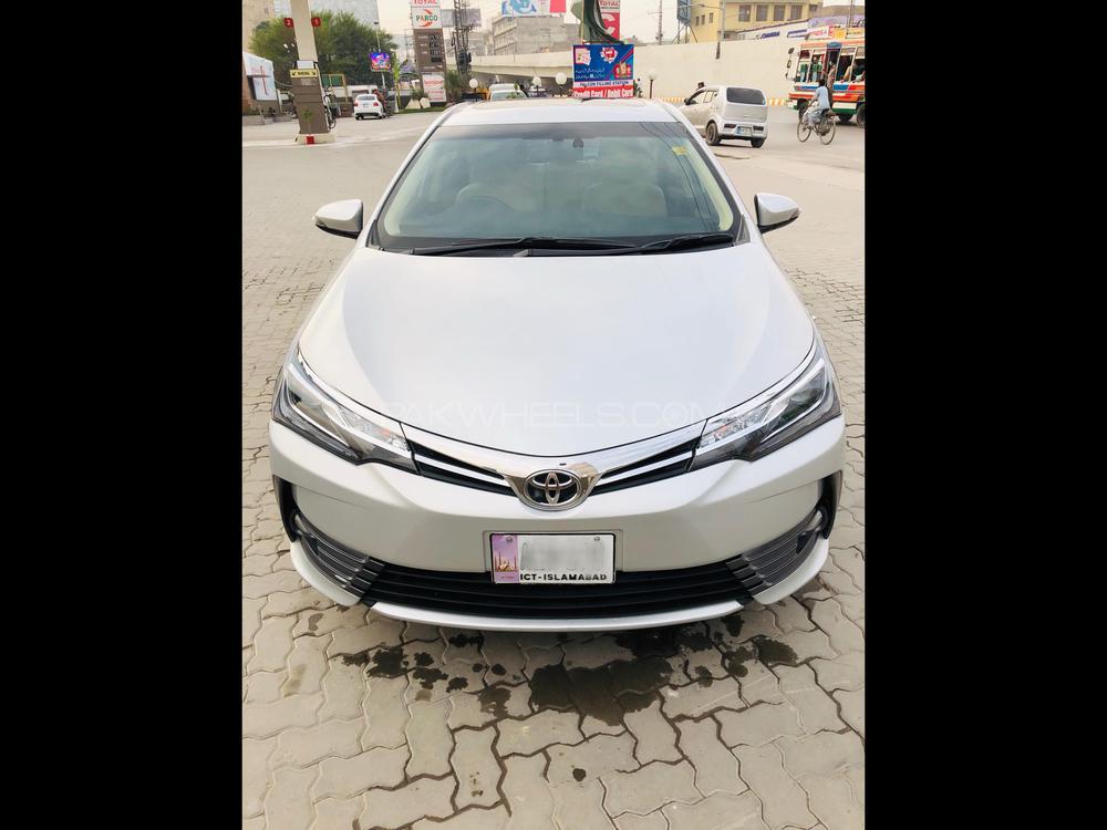 Toyota Corolla Altis Grande CVT-i 1.8 2017 Image-1