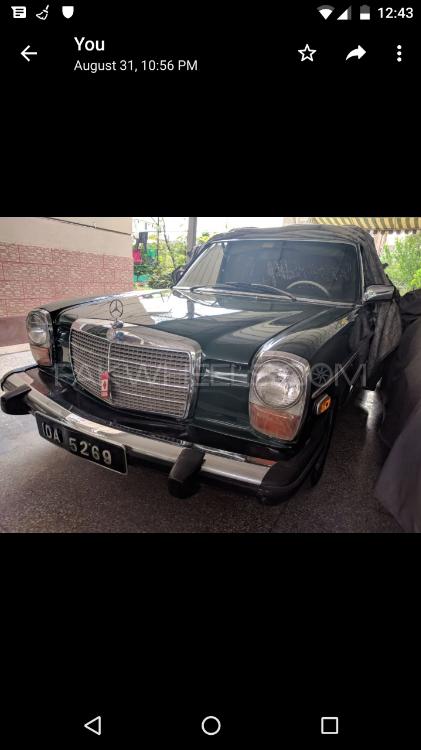 Mercedes Benz S Class - 1976  Image-1