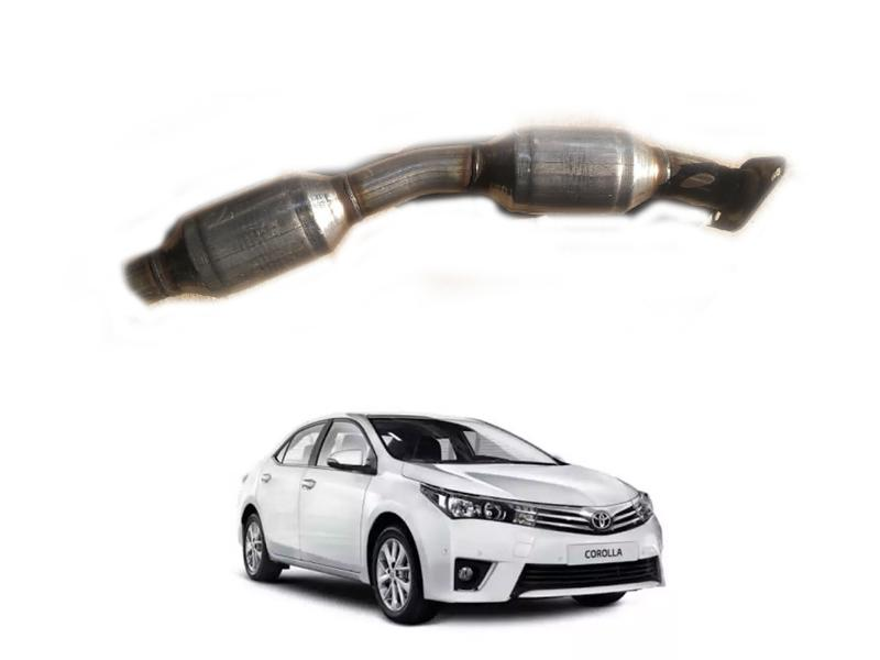 Exhaust Cat Resonator For Toyota Corolla 2012-2014 Image-1