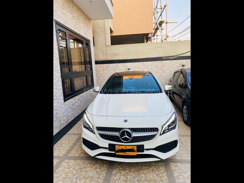 Mercedes Benz CLA Class 2018 Image-1