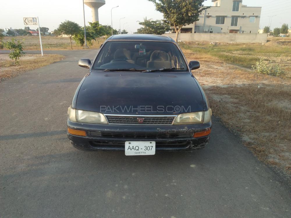 Toyota Corolla LX Limited 1.5 1992 Image-1