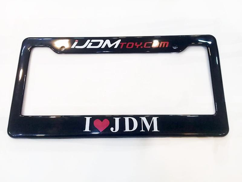 Universal License Plate Cover - JDM Image-1