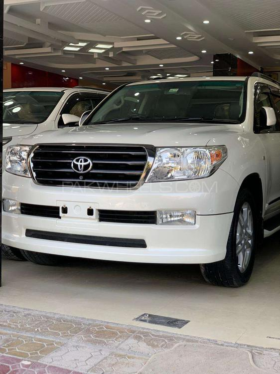 Toyota Land Cruiser ZX 60th Black Leather Selection 2009 Image-1