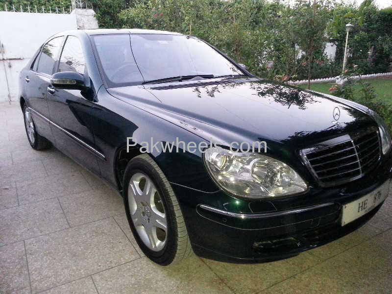 Mercedes Benz S Class S 320 2004 Image-1