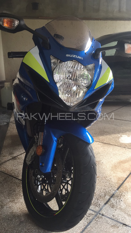 Suzuki GSX-R600 - 2015  Image-1