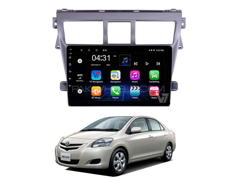 V7 Android Navigation 10/11″ Screen Toyota Belta 2005-2012 in Rawalpindi