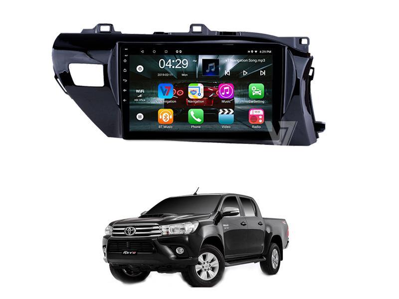 V7 Navigation 10/11″ Screen Toyota Hilux Revo 2016-2020 in Rawalpindi