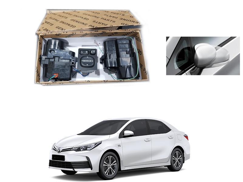 Retract Mirror Kit For Toyota Corolla Facelift xli, Gli 2017-2020 Image-1