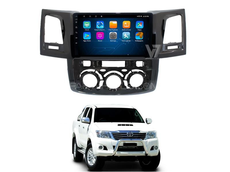 V7 Navigation 10/11″ Screen Toyota Hilux Vigo 2005-2015 in Rawalpindi