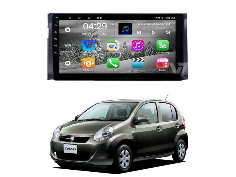 V7 10 inch Android Navigation Toyota Passo 2010-2018 in Rawalpindi
