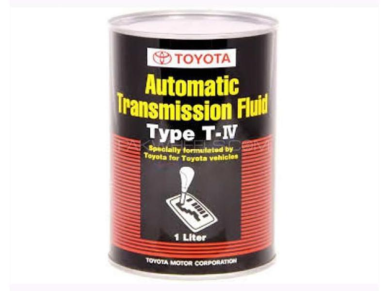 Toyota Genuine ATF Type T-IV Fluid - 1 Litre Image-1