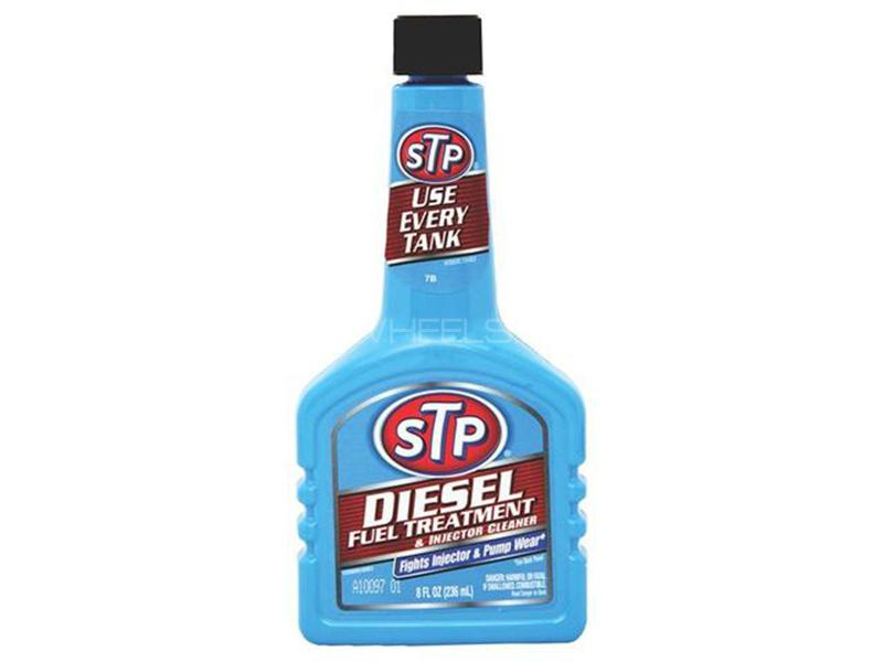 STP Diesel Treatment & Fuel Injector Cleaner - 236ml Image-1