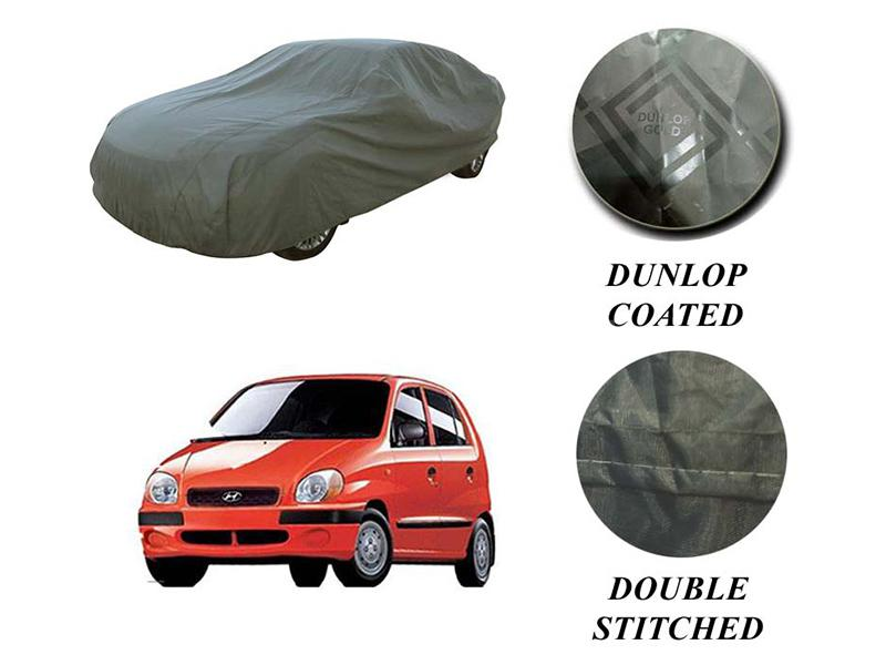 PVC Coated Double Stitched Top Cover For Hyundai Santro Club Image-1