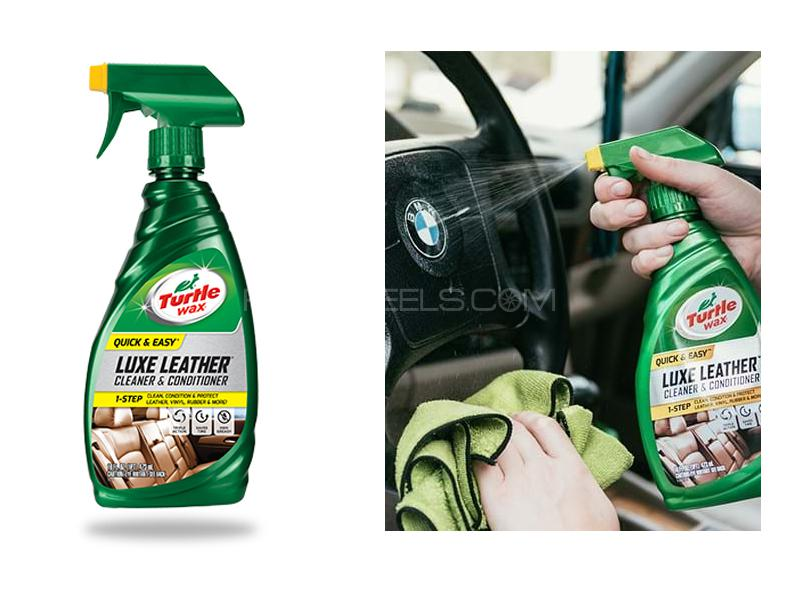 Turtle Wax Luxe Leather Condition And Clean Image-1
