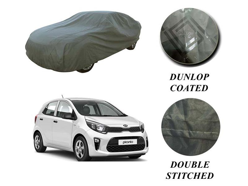 PVC Coated Double Stitched Top Cover For Kia Picanto 2019-2021 in Karachi