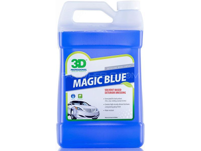 3D Magic Blue Professional Tire Dressing - 1 Gallon Image-1